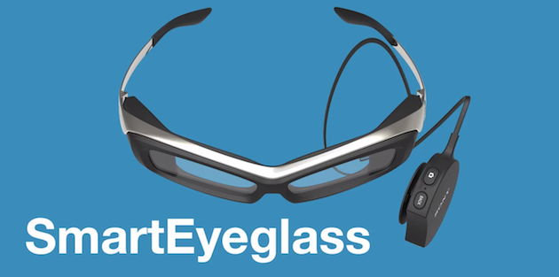 Sony's SmartEyeglass prototype makes Google Glass look chic