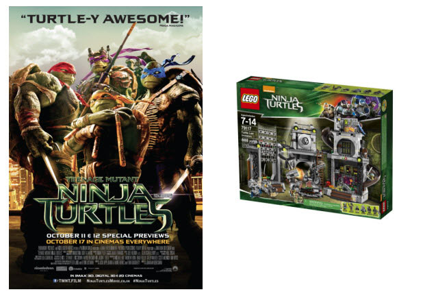 ​WIN LEGO® Teenage Mutant Ninja Turtles goodies
