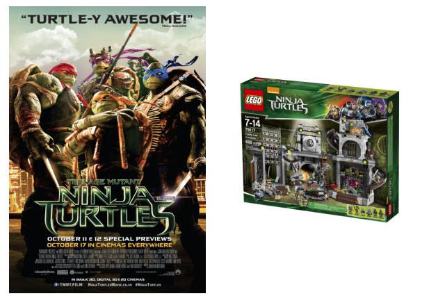 WIN LEGO® Teenage Mutant Ninja Turtles goodies