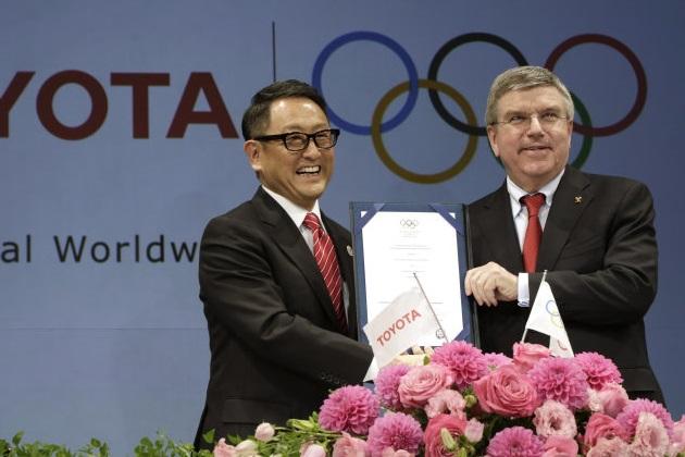 トヨタが国際オリンピック委員会と「TOPパートナー」契約を締結