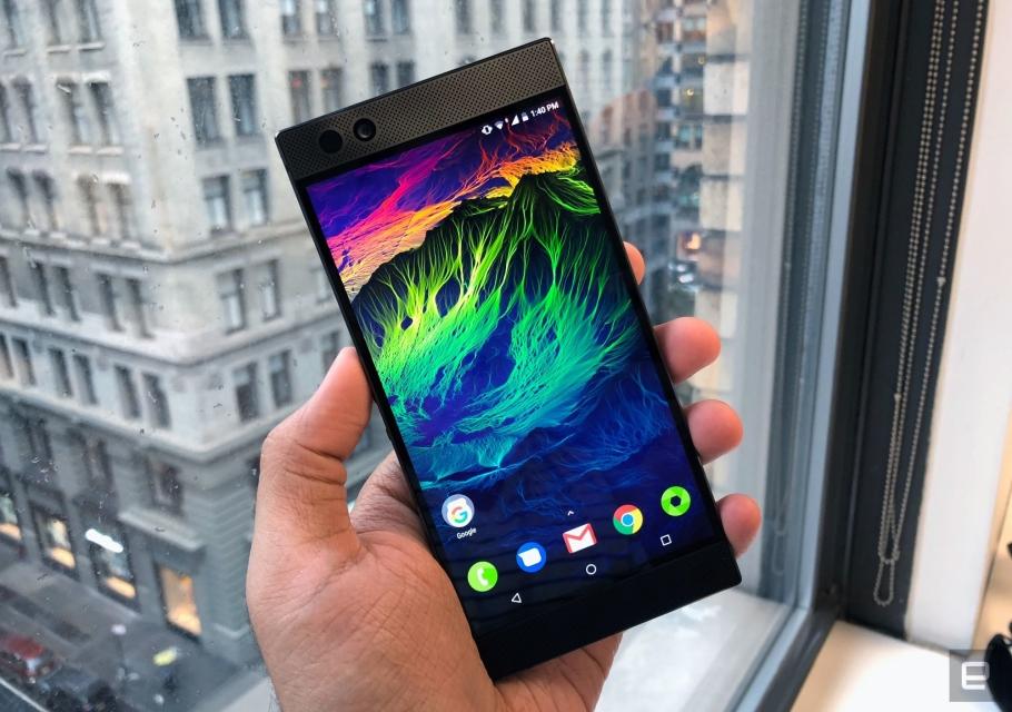 Primeras impresiones del Razer Phone: esto es más que un teléfono para jugones