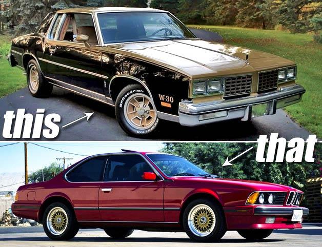 This or That 442 vs. BMW 635CSi