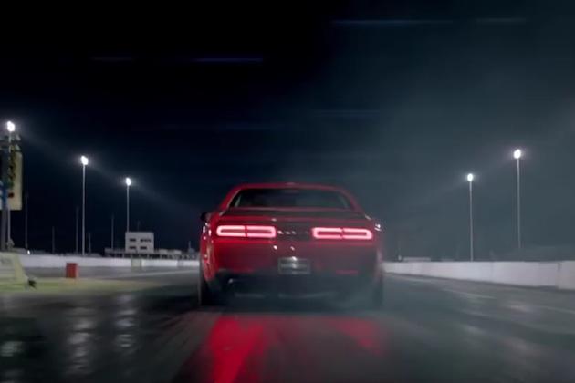 【ビデオ】1/4マイル10秒台!? ダッジ「チャレンジャー SRT デーモン」最後のティーザー映像が公開