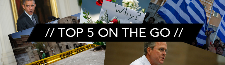 Top 5 On the Go: Tuesday June 30