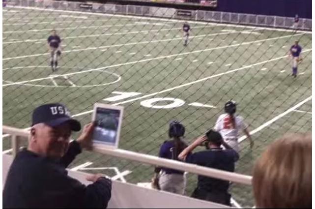 iPad softball