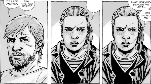walking dead characters better in the comics, walking dead television comic comparison, andrea