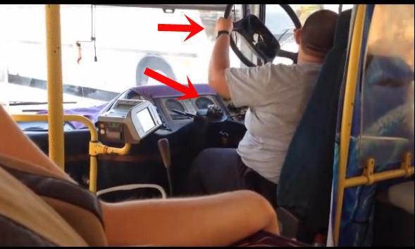 Unfall, leichtfertig, funny, komisch, bizarr, lustig, witzig, unglaublich, lol, lustig, video, bus, auto, skurril,