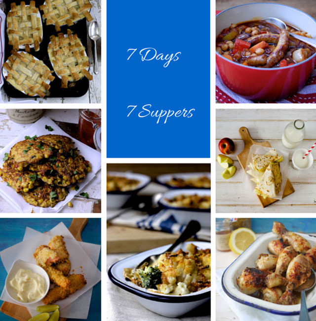 7 days 7 suppers meal planner