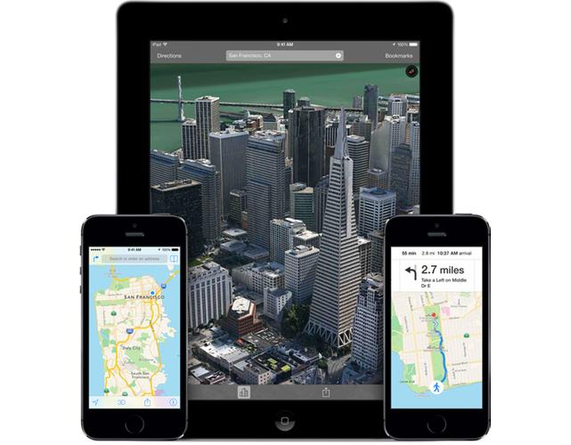 Apple iOS Maps