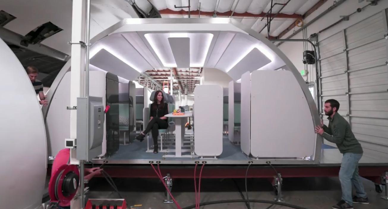 Airbus A³: Modulare Kabineneinrichtung für Flieger von Morgen
