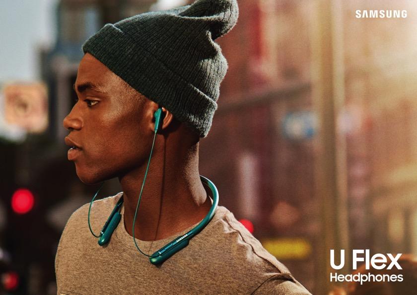 Samsung U Flex: Bluetooth-InEar mit Nackenband