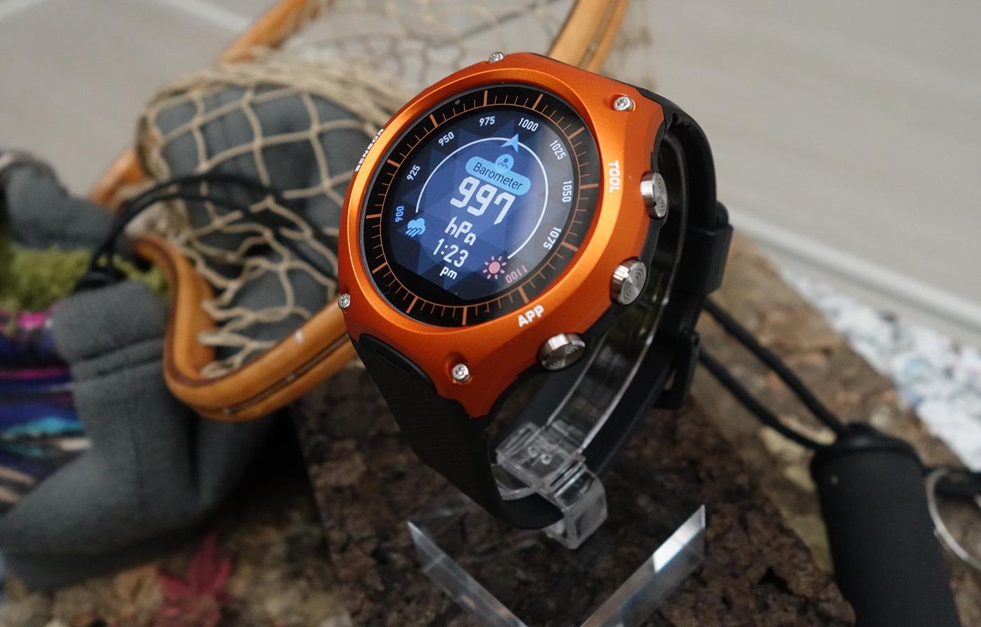 El primer smartwatch de Casio es más robusto que los mismísimos G-Shock