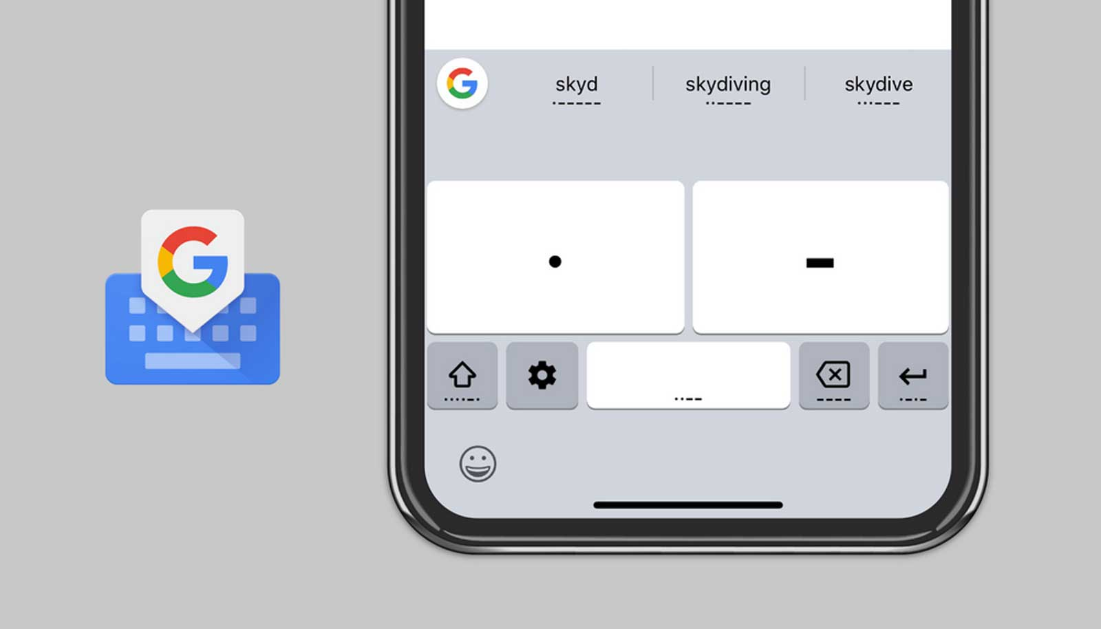 photo image Google brings accessible Morse code typing to Gboard on iOS