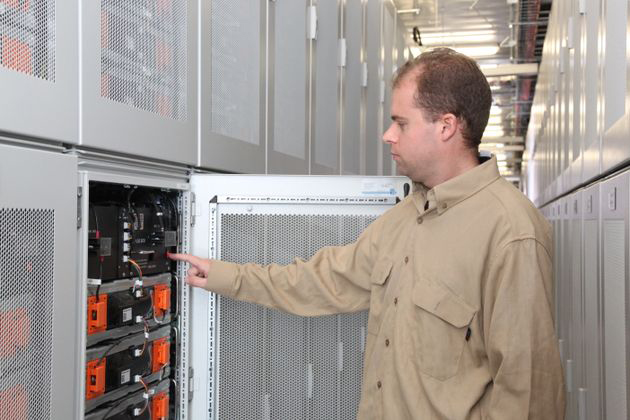 Batteries in the Tehachapi Energy Storage Project