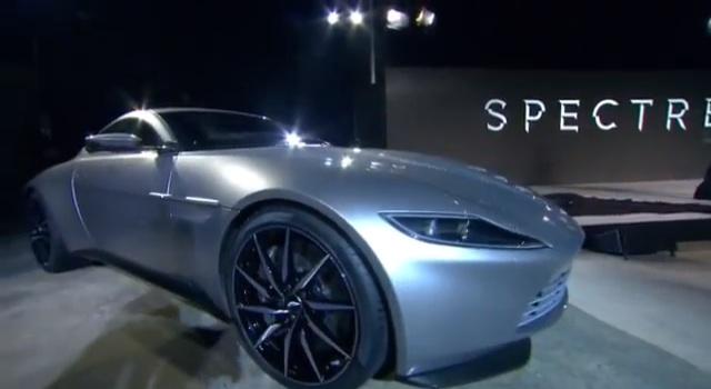 映画『007』最新作は『SPECTRE』 新ボンド・カー、アストン・マーチンDB10も公開