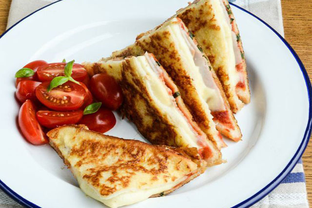 Italian eggy bread croque monsieur recipe