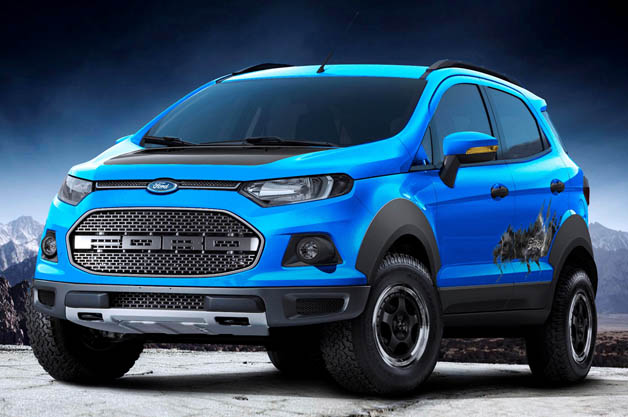 フォード、サンパウロでコンパクトSUV「エコスポーツ・ストーム」コンセプトを発表