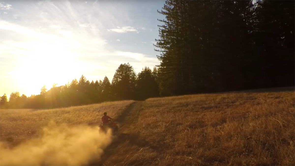 GoPro's first footage from its camera drone