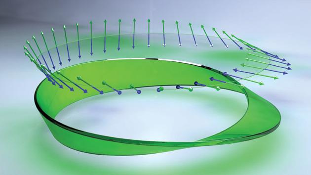 Scientists make a Mobius strip of laser light