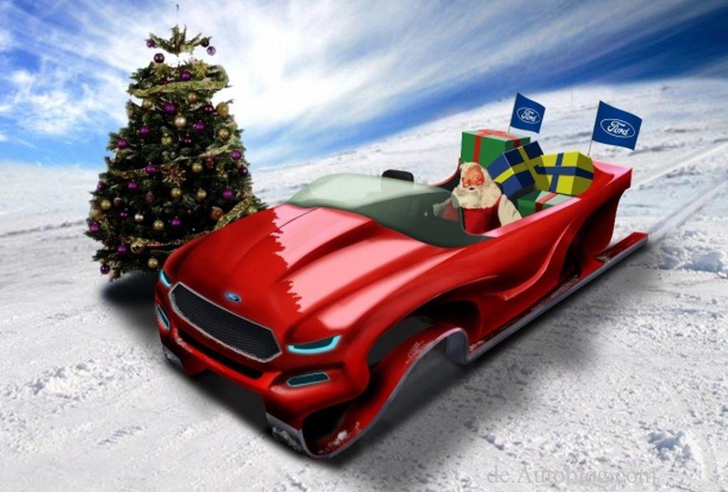 Wie schnell ist der weihnachtsmann