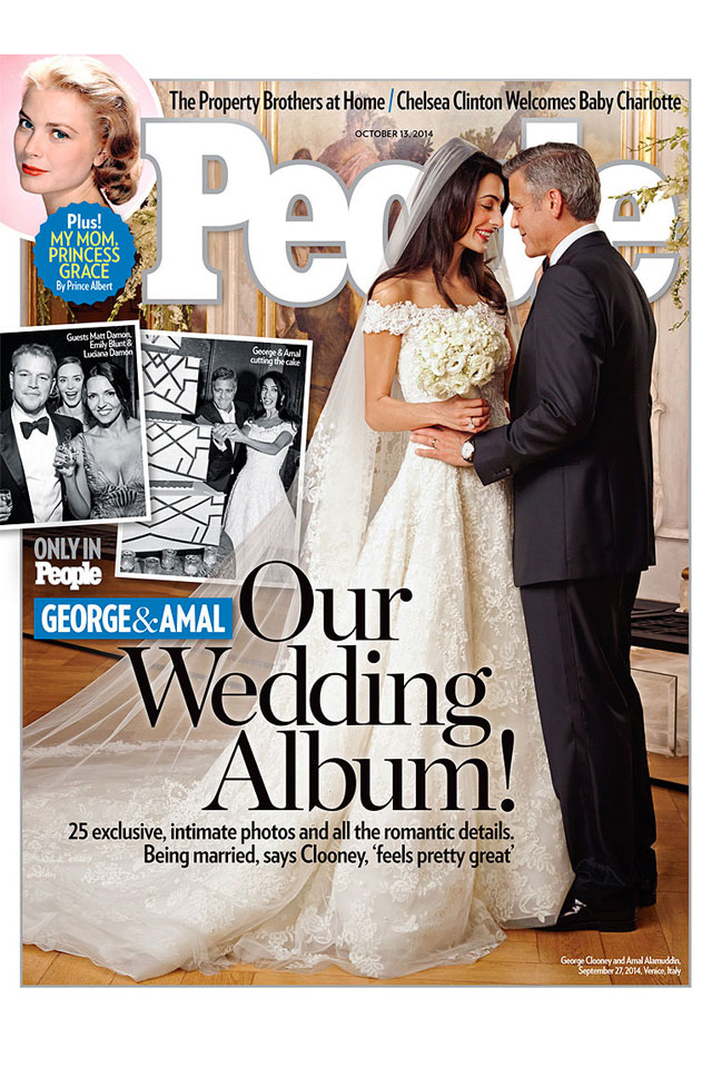 Amal Clooney's wedding dress available to buy!