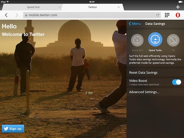 Opera Mini 9 para iOS promete vídeos que cargan más rápido (y consumen menos)