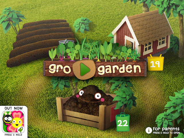 Gro Garden start screen