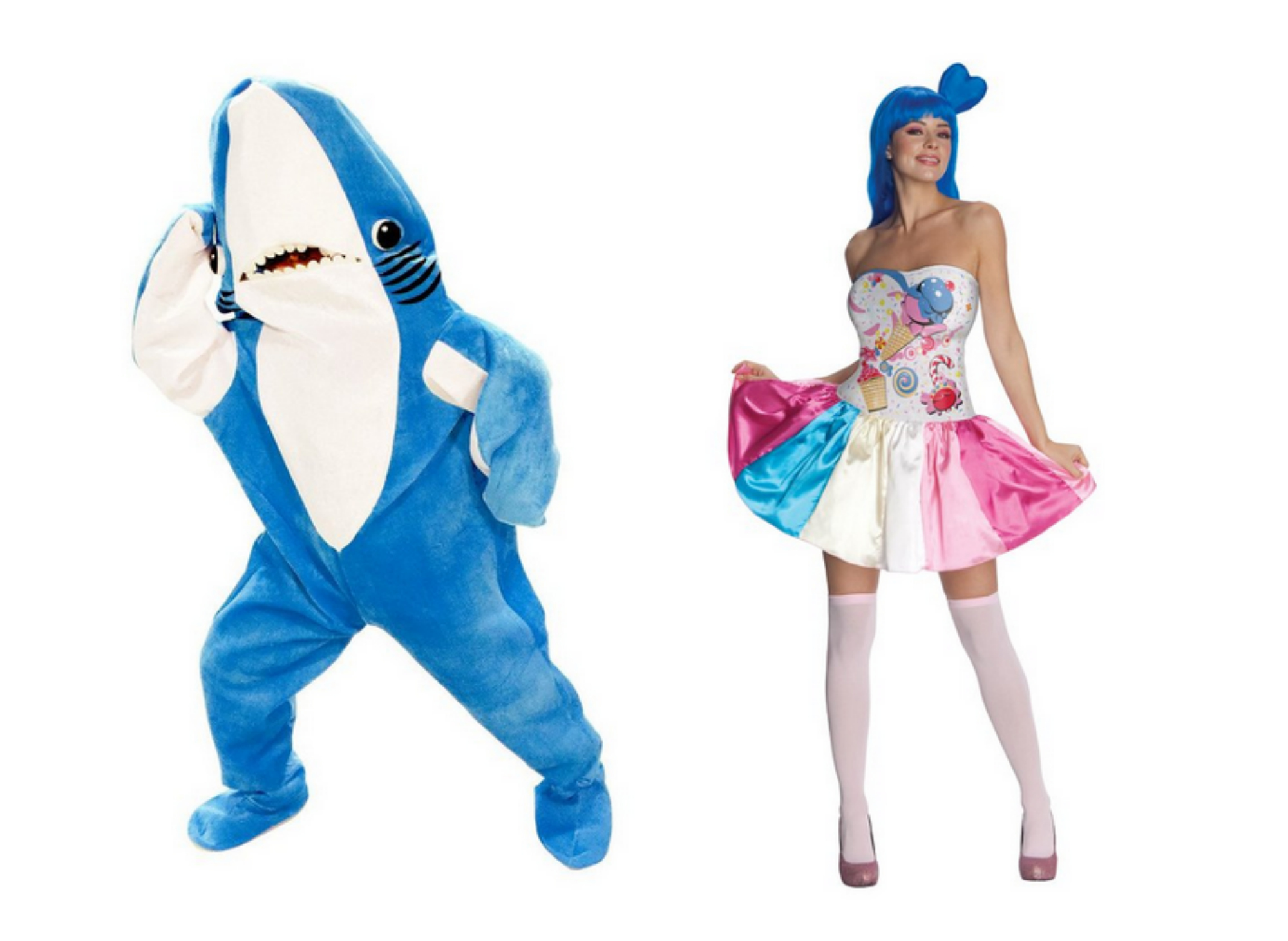 Katy Perry left shark from Super Bowl performance costume