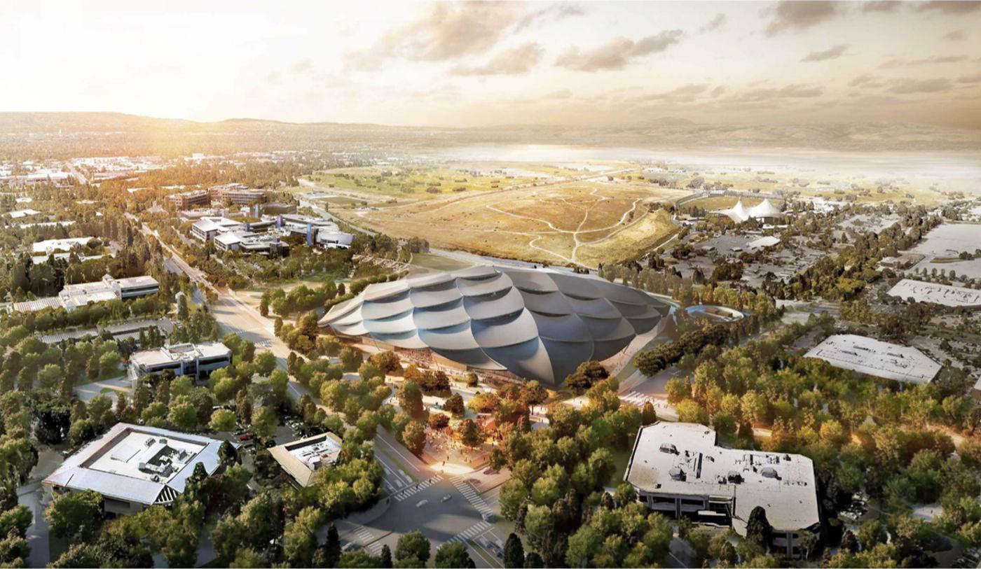 Así será el futurista nuevo campus de Google