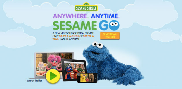 Sesame Go video service offers constant Cookie Monster for $4 a month