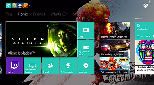 Custom backgrounds headline Xbox One's November update