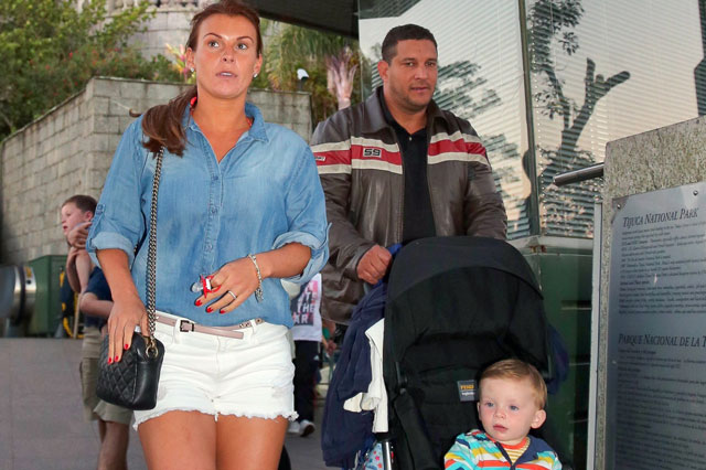 World Cup 2014: Coleen Rooney takes sons Kai and Klay to Christ the Redeemer statue