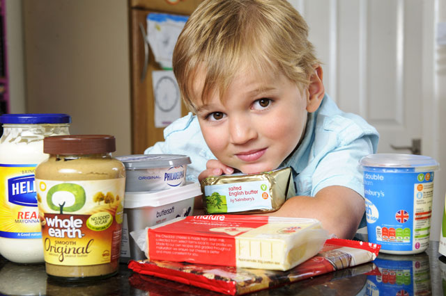 Butter and cheese diet cures boy's epilipetic fits