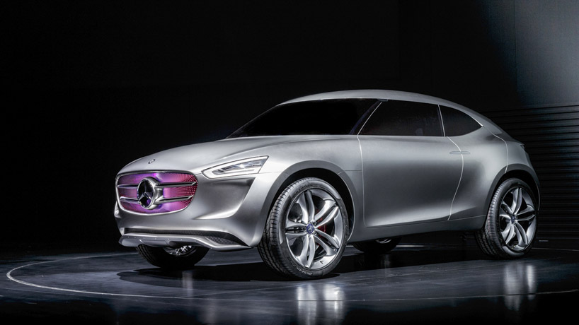 Mercedes Benz Insane New Suv Concept Is A Giant Solar Panel