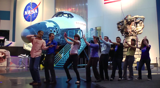 Yup, NASA made an 'All About That Bass' parody