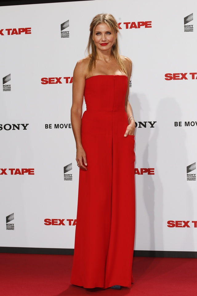 Cameron Diaz's (Very) Bright Red Jumpsuit: Fab Or Fail? | HuffPost UK