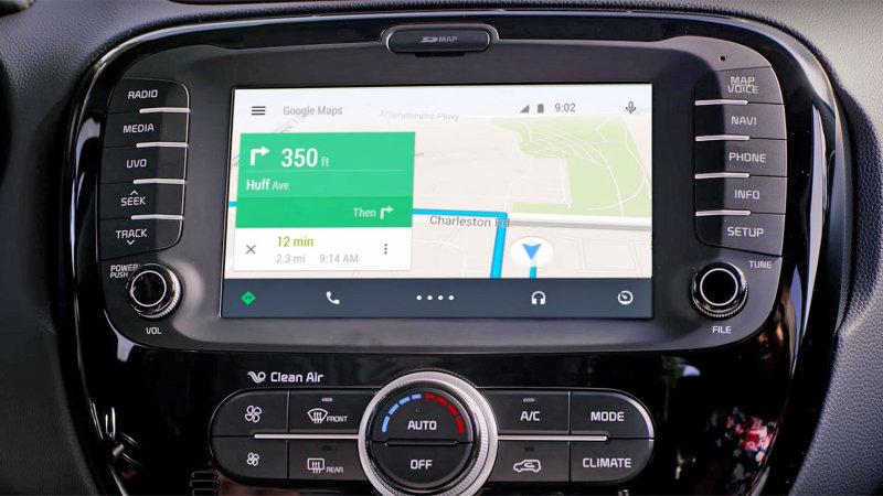 Google の自動車向けアプリ「Android Auto」で「OK Google」が使用可能に
