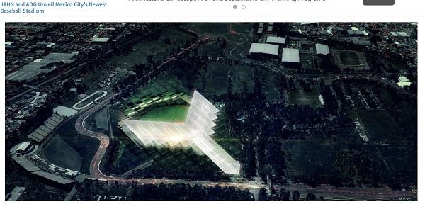エヴァンゲリオンの使徒が襲来!? メキシコの超近代的スタジアムがスゴすぎると話題に