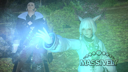 Final Fantasy XIV cutscene