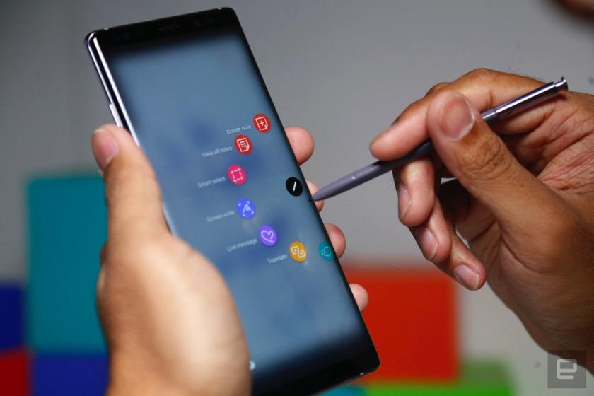 Galaxy Note 9: Der Fingerabdrucksensor im Display steht auf der Kippe