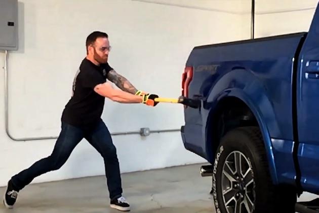 【ビデオ】アルミ製ボディの修理費は本当に高い? フォード新型「F-150」で検証