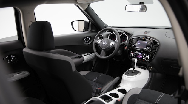 "In an automotive world with seemingly ever-confusing vehicle and model names, the 2017 Nissan JUKE Black Pearl Edition is hard to misunderstand. It's Super Black and features Pearl White exterior accents. And, it adds a surprisingly bold appearance to a vehicle that, since introduction, has had a style and personality most accurately described as ""extroverted."""