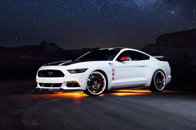 フォード、「マスタング・アポロ・エディション」をチャリティー・オークションに出品