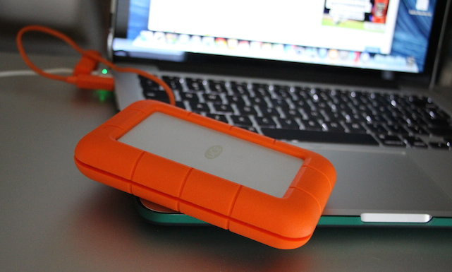 LaCie Rugged USB 3.0 Thunderbolt SSD, SSD, external drive, review, rugged