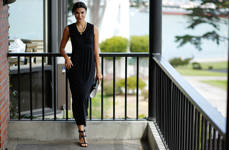 Shop this video: Swap your sweats for a maxi dress
