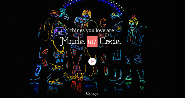Google's Made with Code encourages girls to embrace computer science