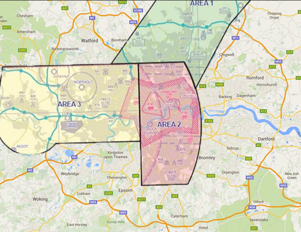 Drone Ban Map Obama Visit
