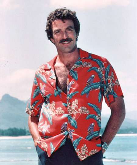 Was Tom Selleck Constantly Hiding An Erection On Magnum, P.I.?, tom selleck beach