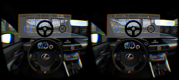 Lexus creates an Oculus Rift-powered virtual test drive