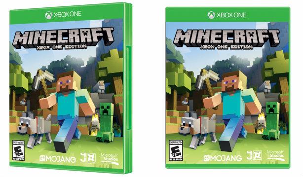 Minecraft: Xbox One Edition blocks shelves in November